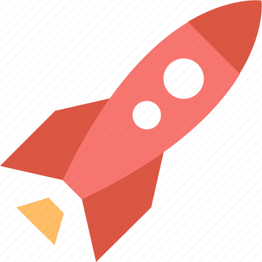 begin, launch, product, promotion, rocket, start icon