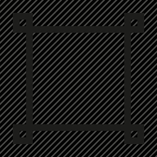design, edit, point, square, tool, transform, vertex icon