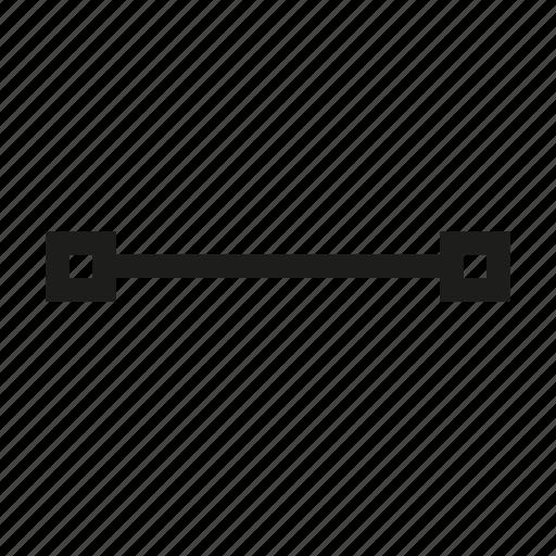 design, edit, line, point, tool, transform, vertex icon