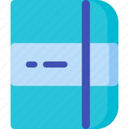 diary, notebook, page, paper, write, writing icon