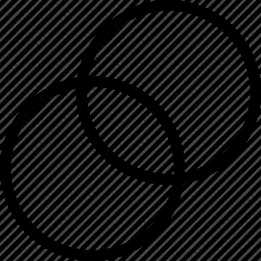 circles, copy, design, drag, drop, duplicate, tool icon