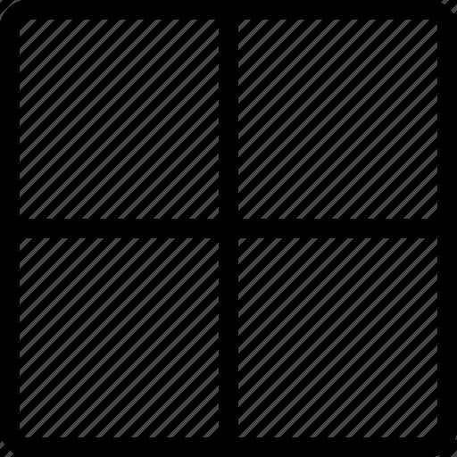 design, grid, layout, tool icon
