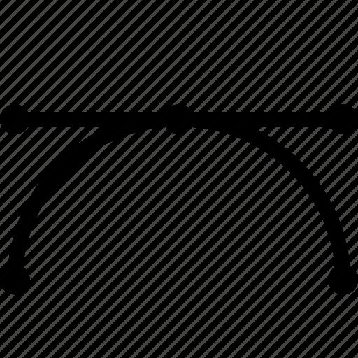 curve, design, draw, pen, tool icon