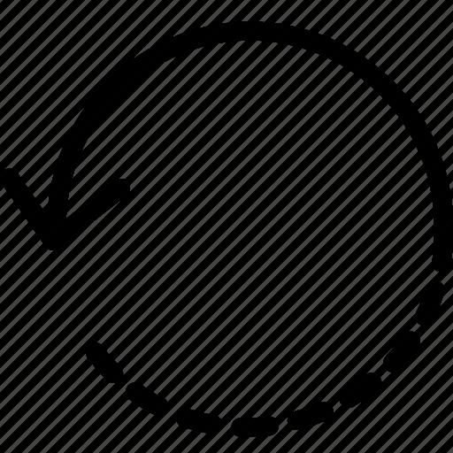 design, rotate, tool icon