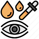 dosage, eyedropper, healthcare, medical, tools, utensils icon