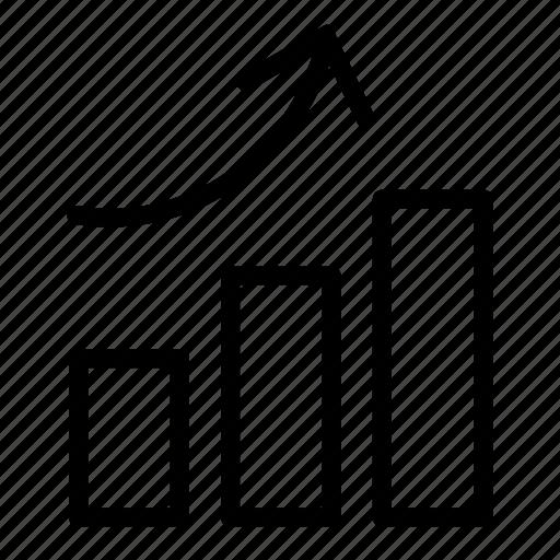 analysis, chart, graph, growth, profit, report, statistics icon