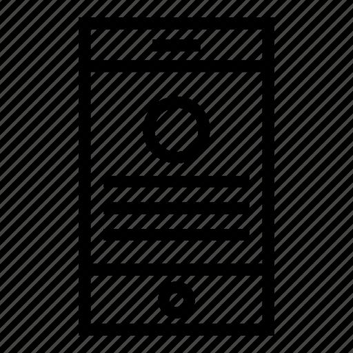 communication, layout, mobile, phone, responsive, smartphone, web icon