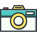 camera, media, photo, photography, retro icon