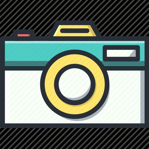 camera, media, photo, photography, retro icon