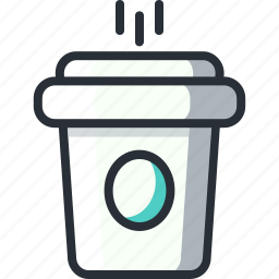 coffee, coffee cup, cup, drink, hot, starbucks icon