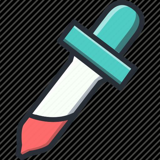 design, dropper, tool icon