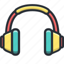 call, call center, communication, devices, headphones, headset, music, support icon