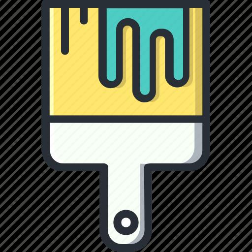 art, brush, design, paint, paintbrush icon