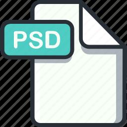 file, photoshop, psd, psd file icon