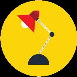 bulb, lamp, light, lightbulb, lightning icon