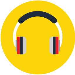 audio, headphone, media, music, play, sound icon