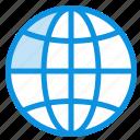 design, globe, internet, world icon