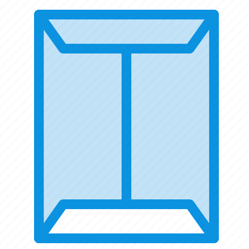 box, closet, open, rack, window icon