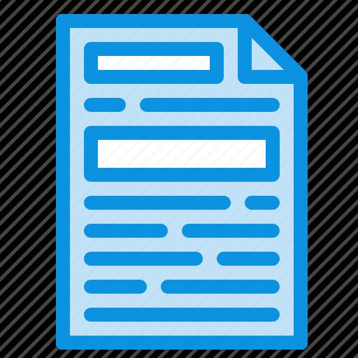 design, document, file icon