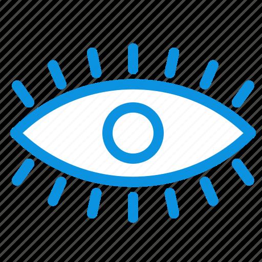 design, eye, eyes, watch icon