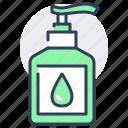 washing, gel, bottle, sanitizer, disinfection, hand