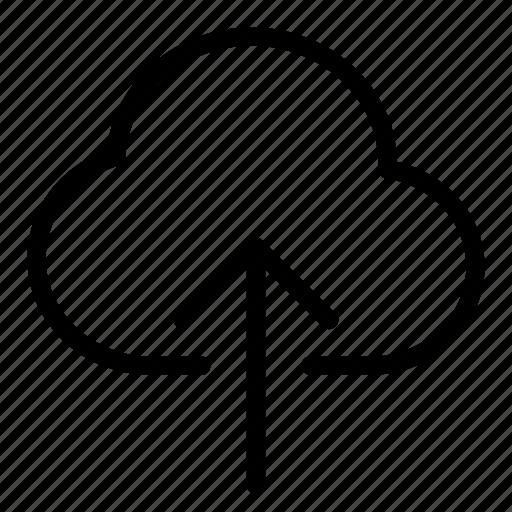 cloud, cloud storage, upload icon