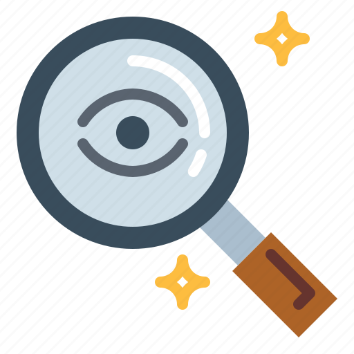 Detective, glass, magnifying, search, zoom icon - Download on Iconfinder