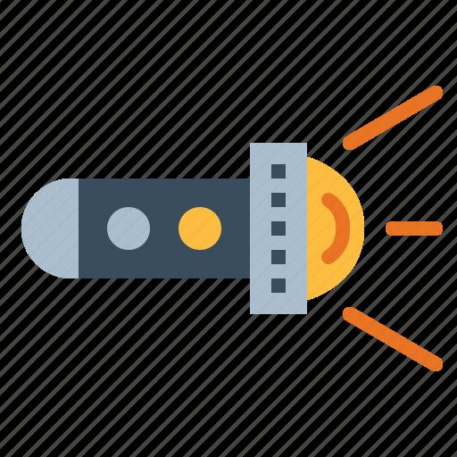 Flashlight, illumination, light icon - Download on Iconfinder