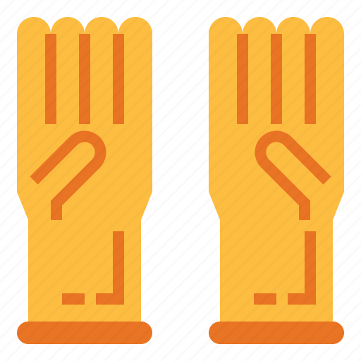 glove, gloves, protection, science icon