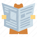 journal, news, newspaper, report icon