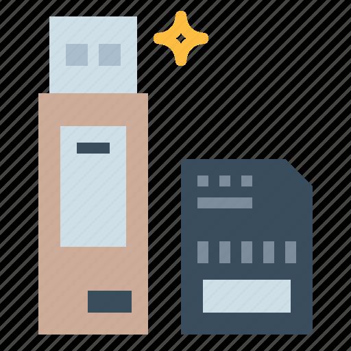 card, file, pendrive, sd, storage, usb icon
