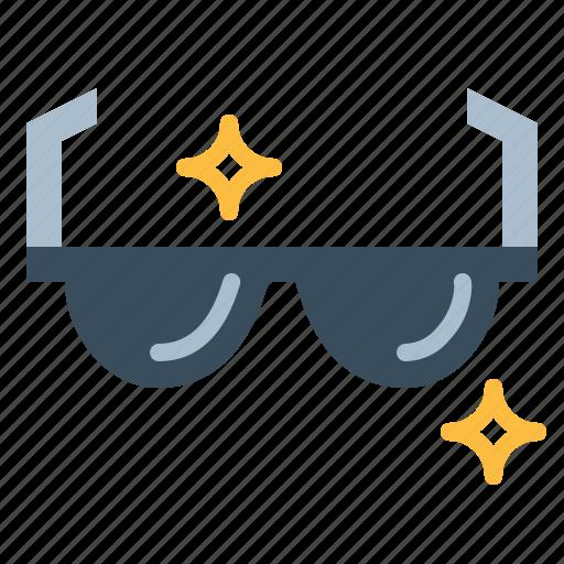 eyeglasses, fashion, protection, sunglasses icon