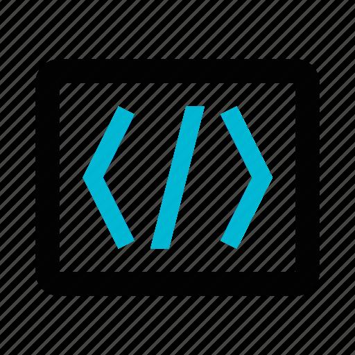 Code, coding, development, programming, web, window icon - Download on Iconfinder