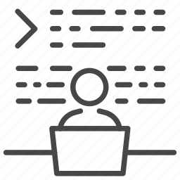 code, coding, dev, developer, program icon