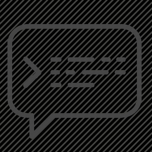 bot, chat, code, coding, dev, developer, talk icon