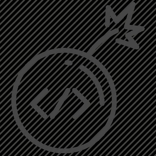 Bomb, code, coding, dev, program, trap, hacking icon - Download on Iconfinder