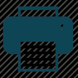 device, paper print, print, printer, technology icon