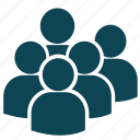 avatar, group, human, people, profile, team, users icon