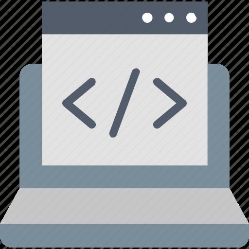 Coding, custom, design, development, interface, programming, website icon - Download on Iconfinder