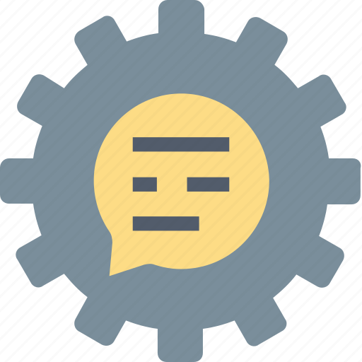 Support, technical, gear, help, information, maintain, service icon - Download on Iconfinder