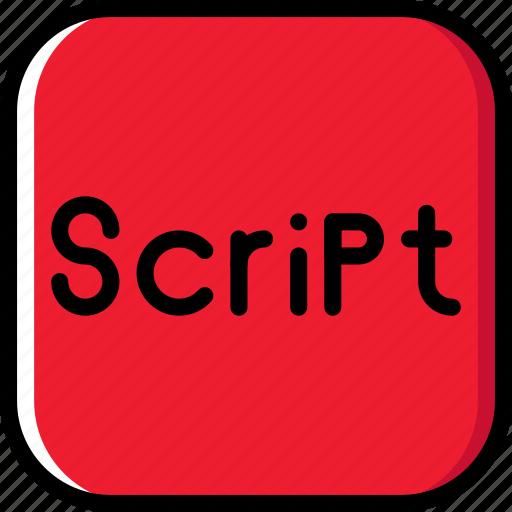 code, coding, development, programming, script icon