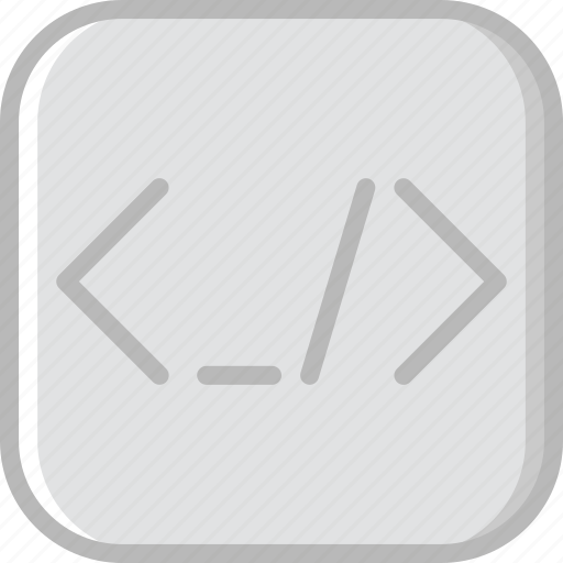 brackets, code, coding, development, programming icon