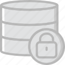 code, coding, database, development, locked, programming icon