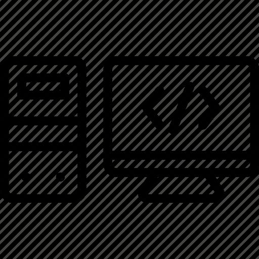 code, coding, development, programming, web icon