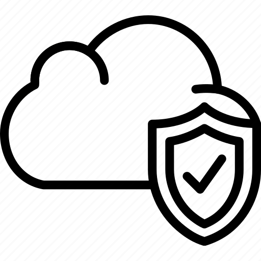 cloud, code, coding, development, programming, secure icon