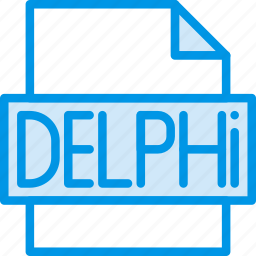 code, coding, delphi, development, file, programming icon