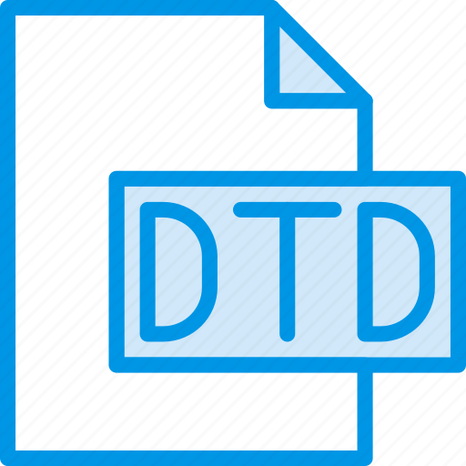 code, coding, development, dtd, file, programming icon