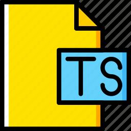 code, coding, development, file, programming, ts icon