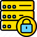 code, coding, databases, development, locked, programming icon