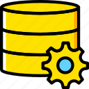 code, coding, database, development, programming, settings icon